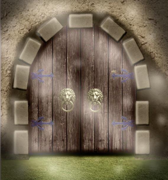 замки ворота сказочные картинки